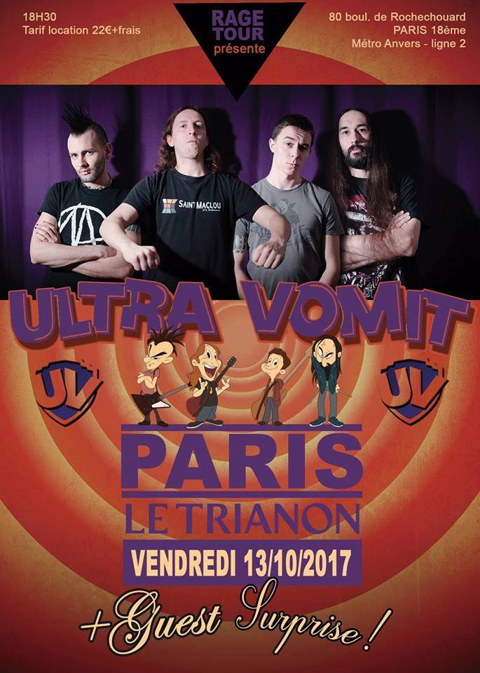 Ultra Vomit au Trianon