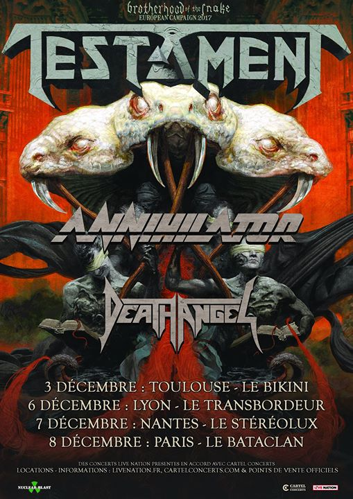 Testament - Tour 2017
