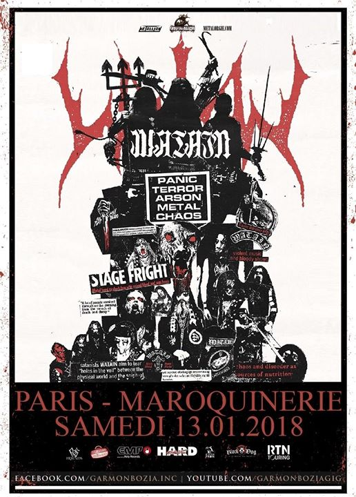 Watain @ Paris
