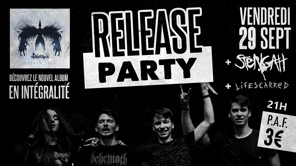 Orphan Lord Release Party