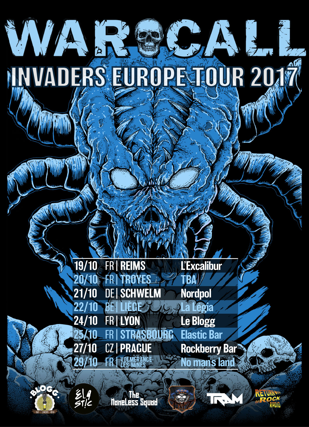 Invaders Tour - Reims