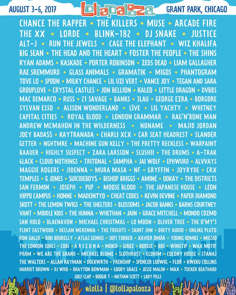 Lollapalooza Chicago 2017