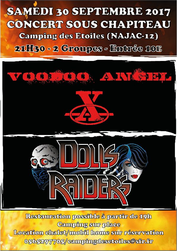 Dolls Raiders, Voodoo Angel
