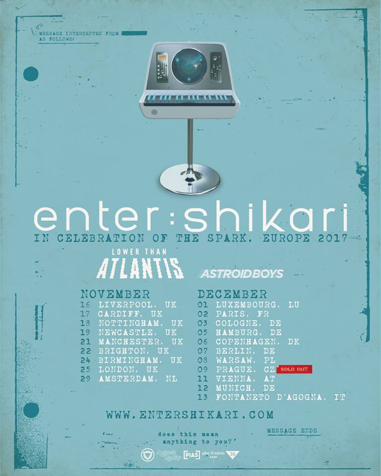 Enter Shikari - Tour 2017