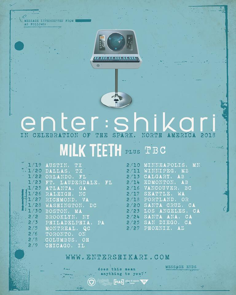 Enter Shikari - Tour 2018