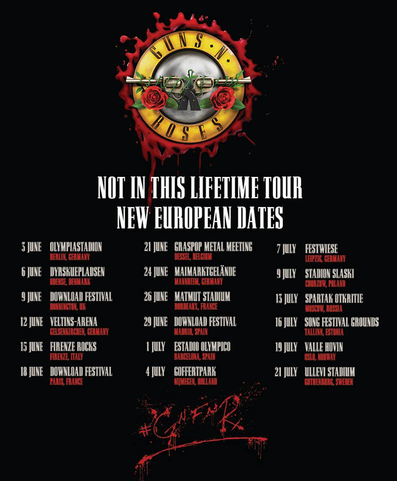 Guns N' Roses - World Tour
