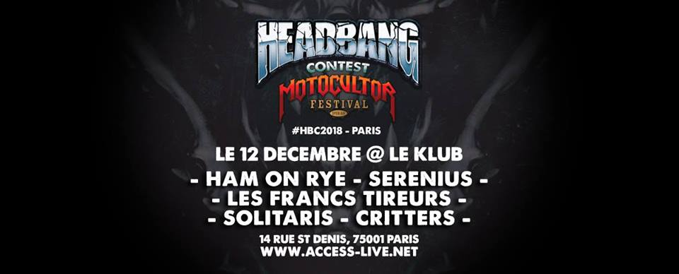 Motocultor Headbang Contest