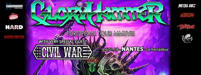 Gloryhammer - Tour 2018