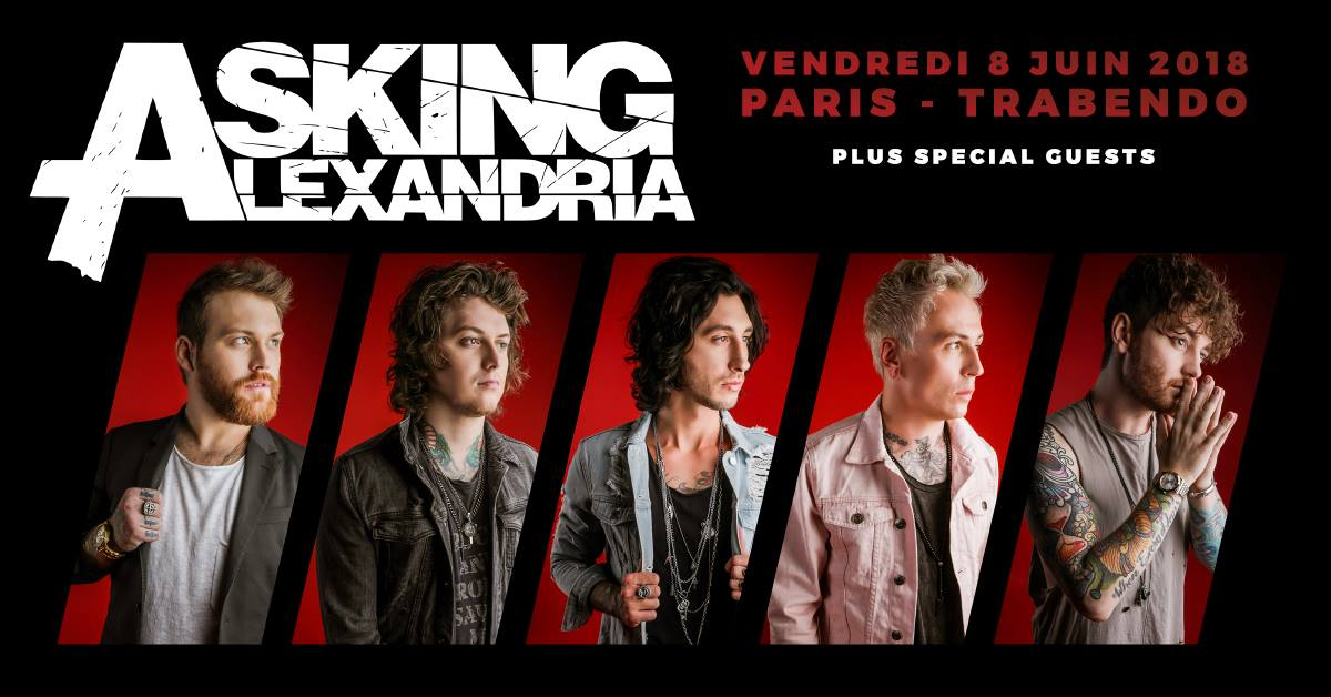 Asking Alexandria - Tour 2018