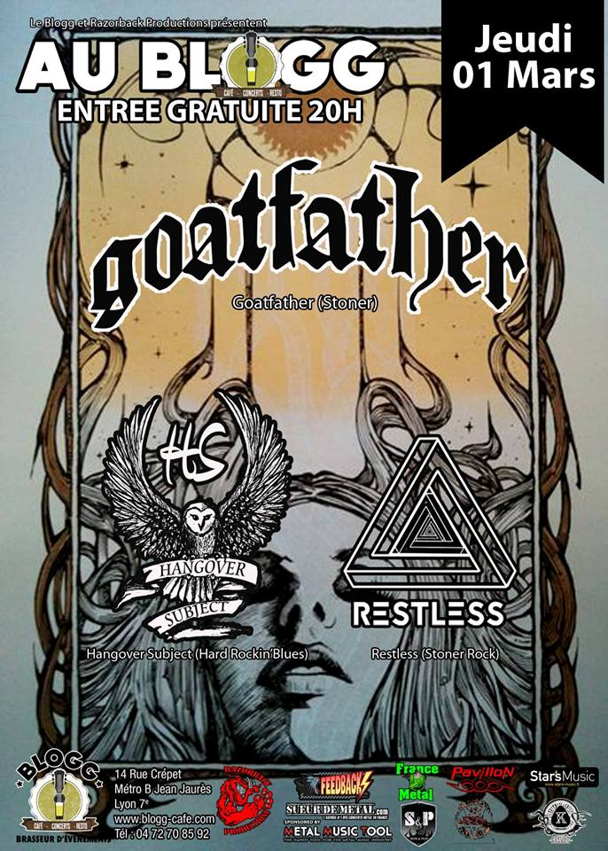 Goatfather + Hangover Subject + Restless