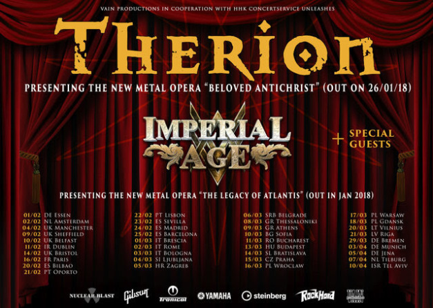 THERION - Tour 2018