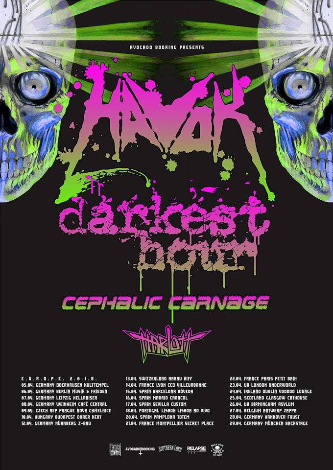 Havok - Tour 2018