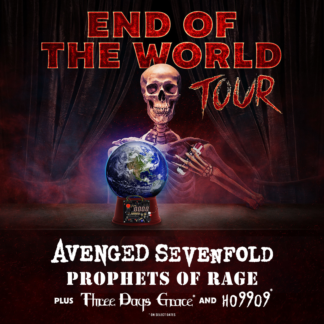 Avenged Sevenfold - Tour 2018
