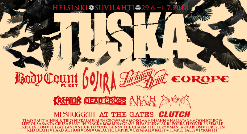 Tuska Open Air 2018