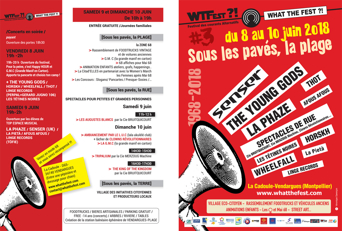 What The Fest?!#3 [Sous les pavés, la rage]