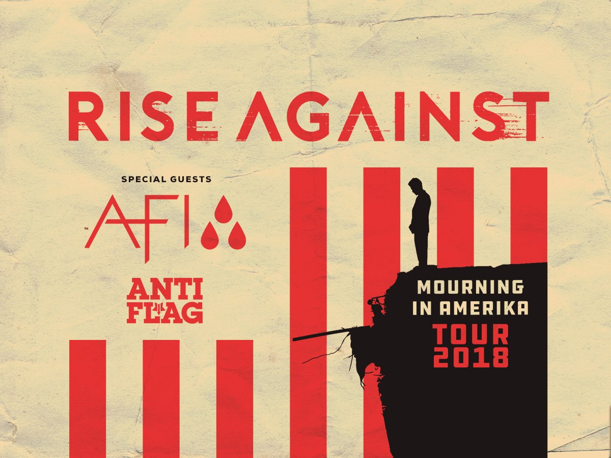 Rise Against - Tour 2018