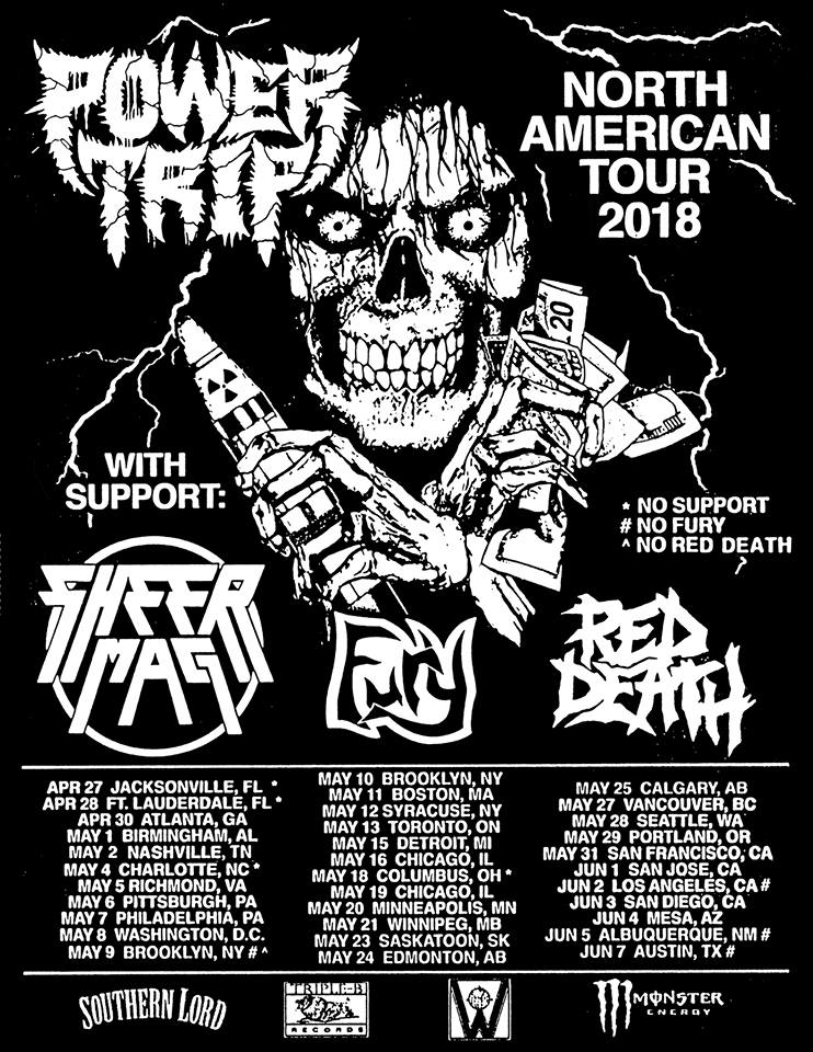 Power Trip - Tour 2018