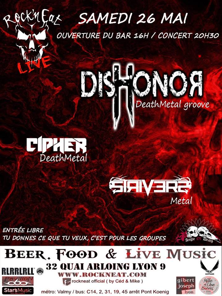 Dishonor & Cipher & Strivers