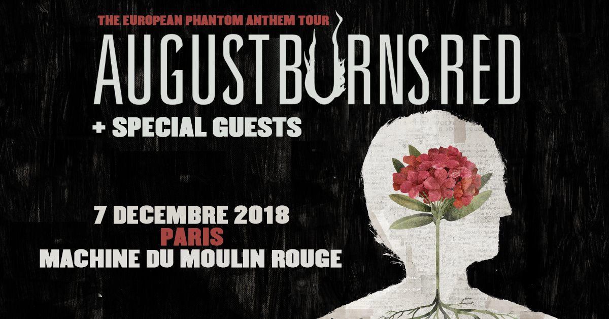 August Burns Red - Tour 2018