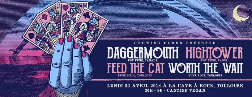 Daggermouth + Hightower + FEED the CAT +