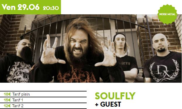 Soulfly - Tour 2018