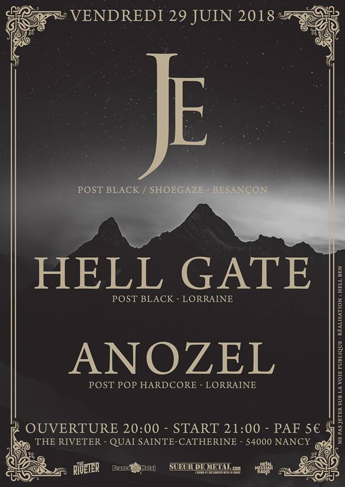 Je + Hell Gate + Anozel @The Riveter