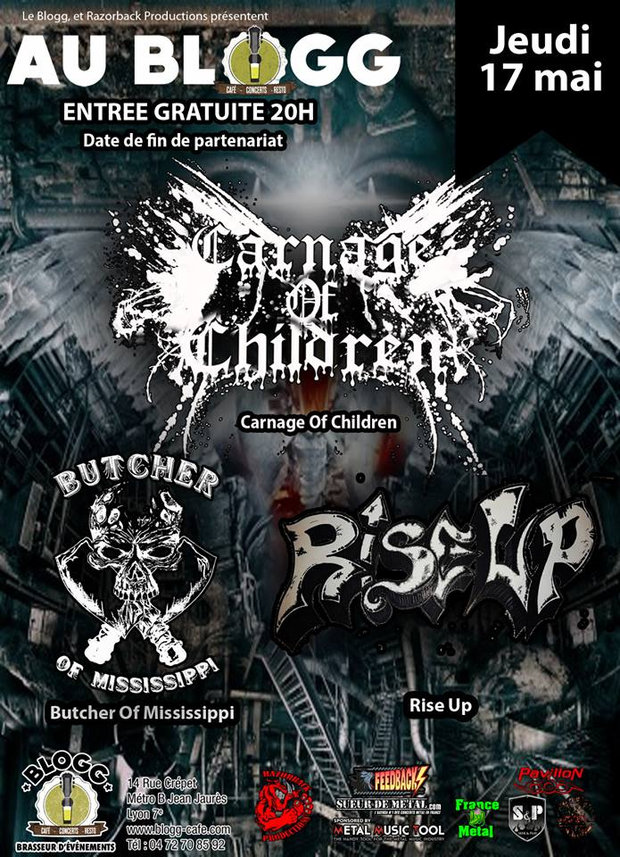 Carnage Of Children + Rise Up + Butcher Of Mis
