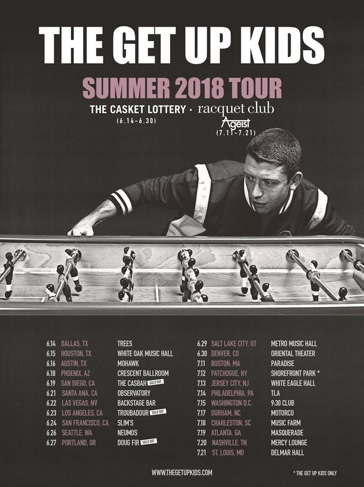The Get Up Kids - Tour 2018