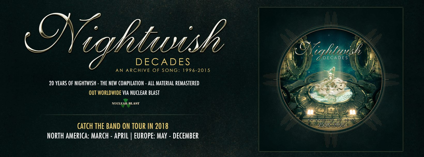 Nightwish - Tour 2018