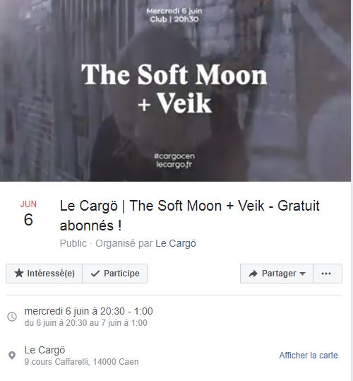 The Soft Moon + Veik