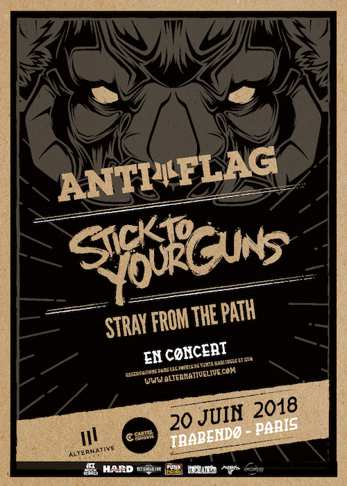 Anti-Flag + Stick To Your Guns
