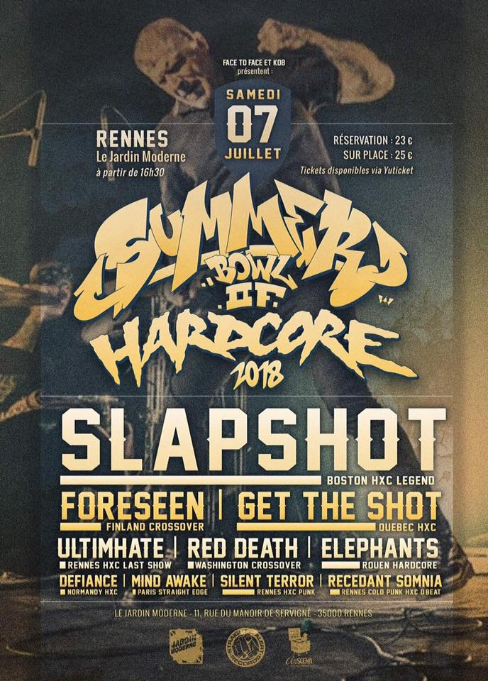 Summerbowl of Hardcore Fest 2018