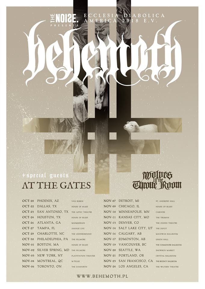 Behemoth - Tour 2018