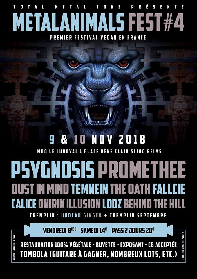 FESTIVAL METALANIMALS IV [REIMS - 51] > 09-11-2018