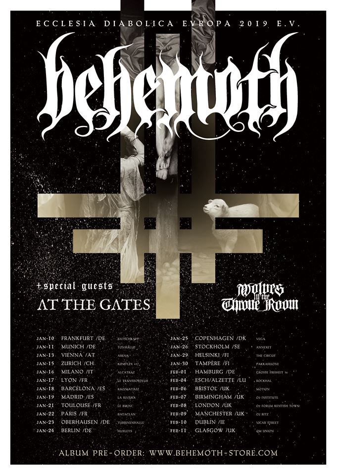 Behemoth - Tour 2019