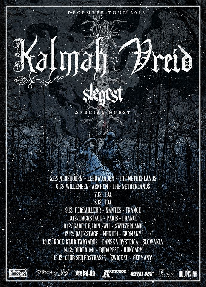 Kalmah + Vreid - Tour 2018