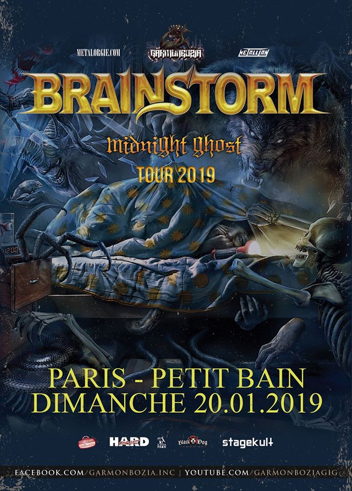 Brainstorm - Tour 2019