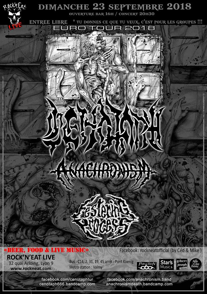 Cenotaph / Anachronism / Festering Process