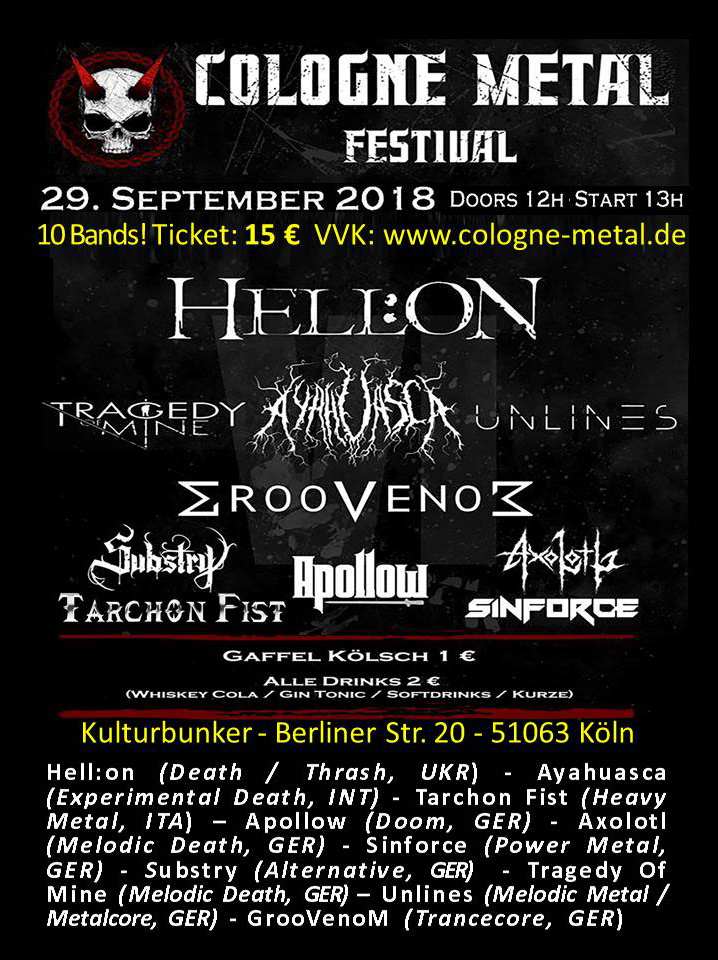 Cologne Metal Festival VI