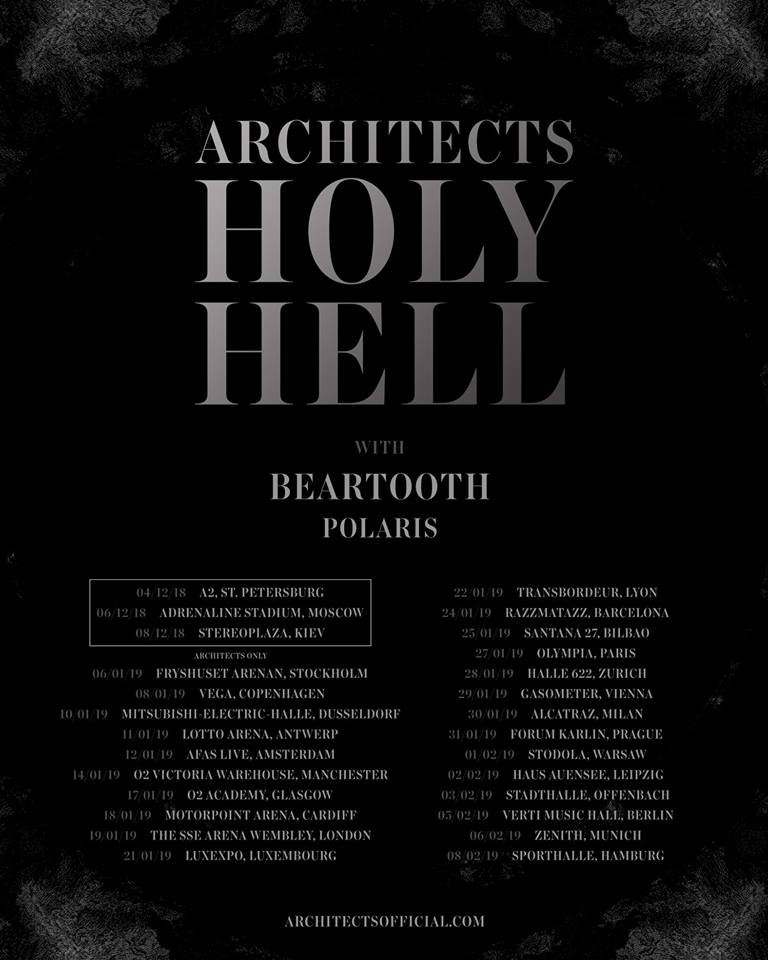 Architects - Tour 2019