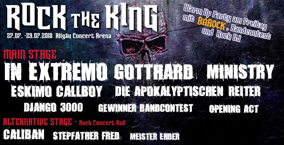 Rock The King Festival 2018