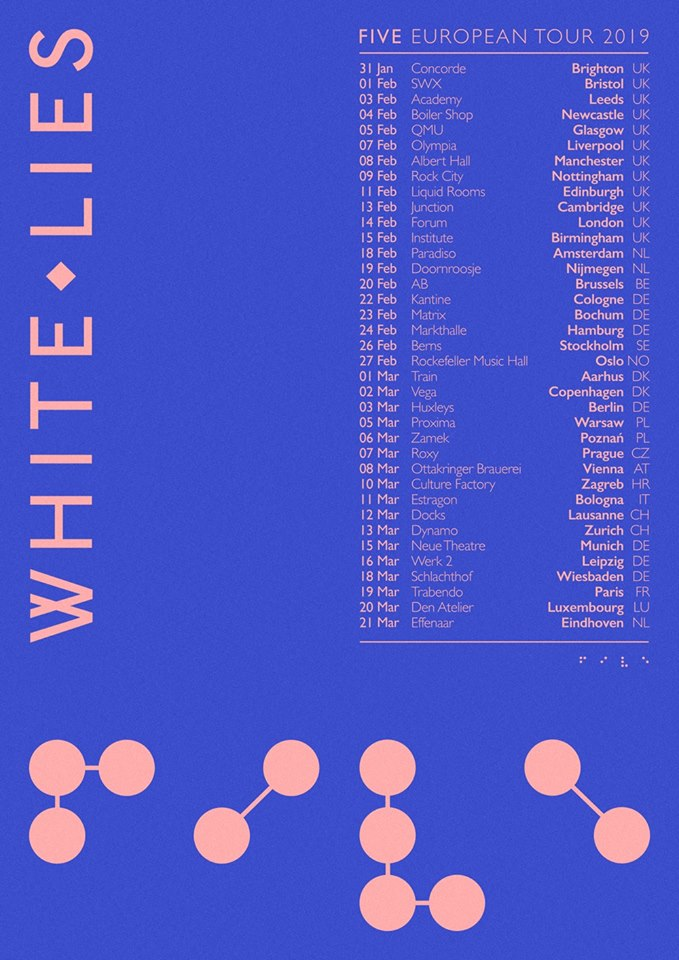 White Lies - Tour 2019