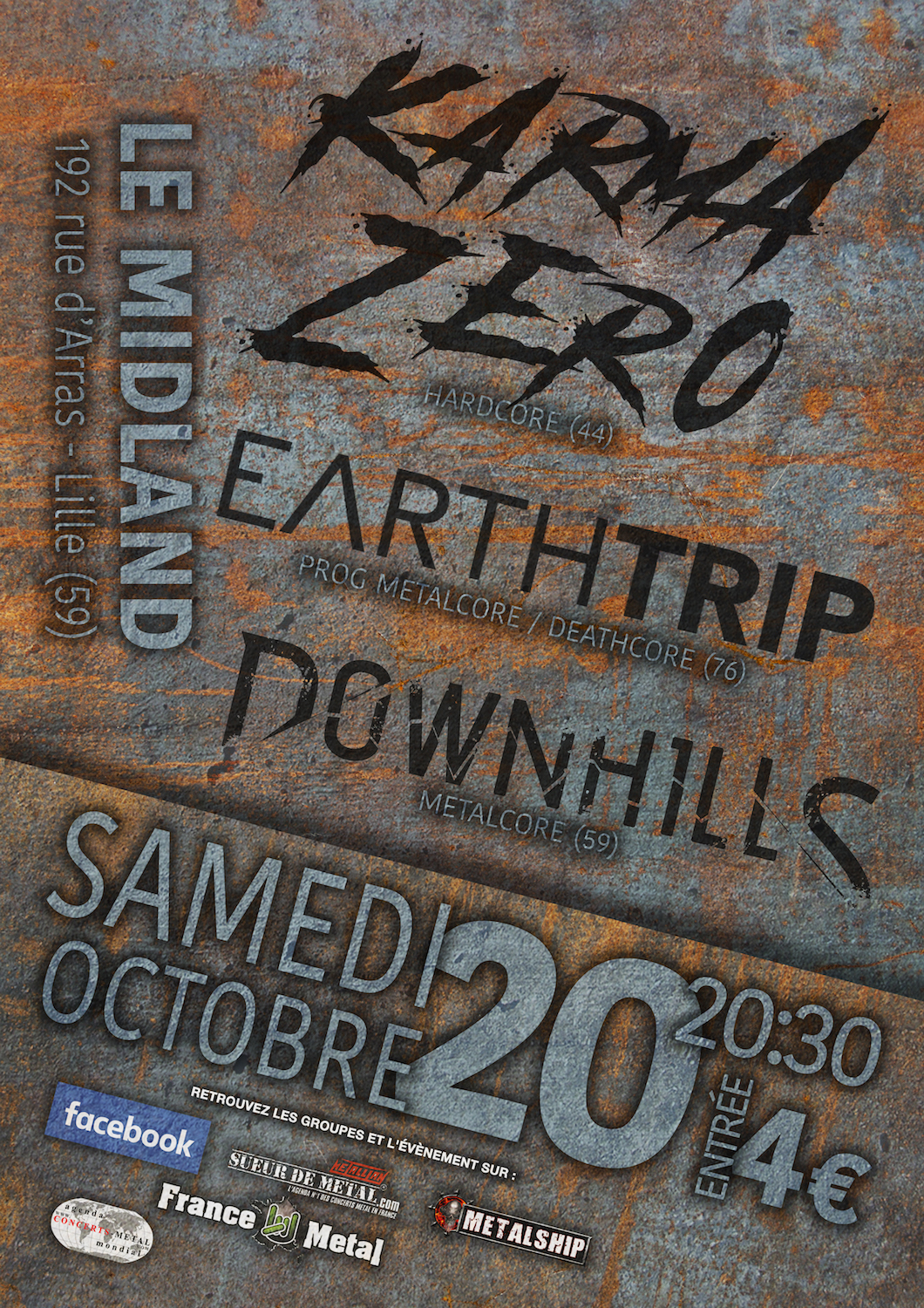 Karma Zero / Earth Trip / Downhills