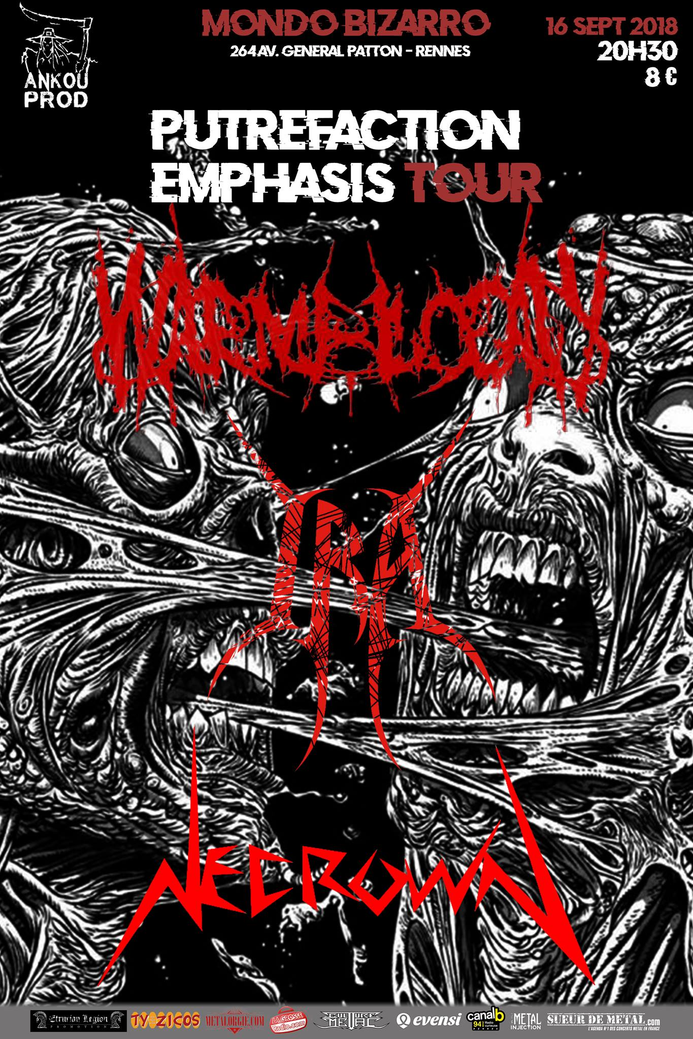 Putrefaction emphasis tour