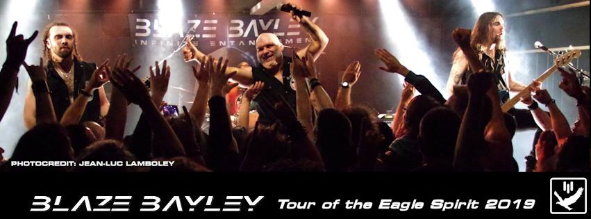 Blaze Bayley - Tour 2019
