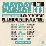 Mayday Parade - Tour 2019