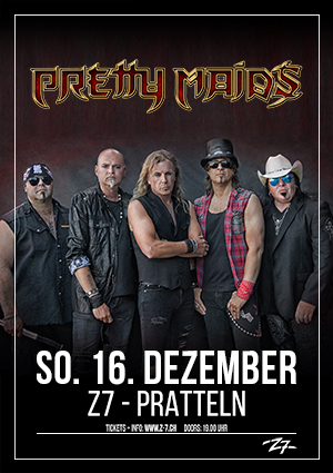 Pretty Maids - Tour 2018