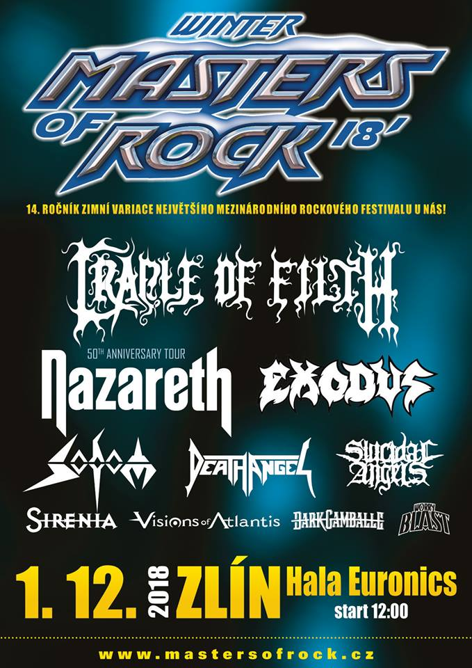 Masters of Rock - Winter 2018