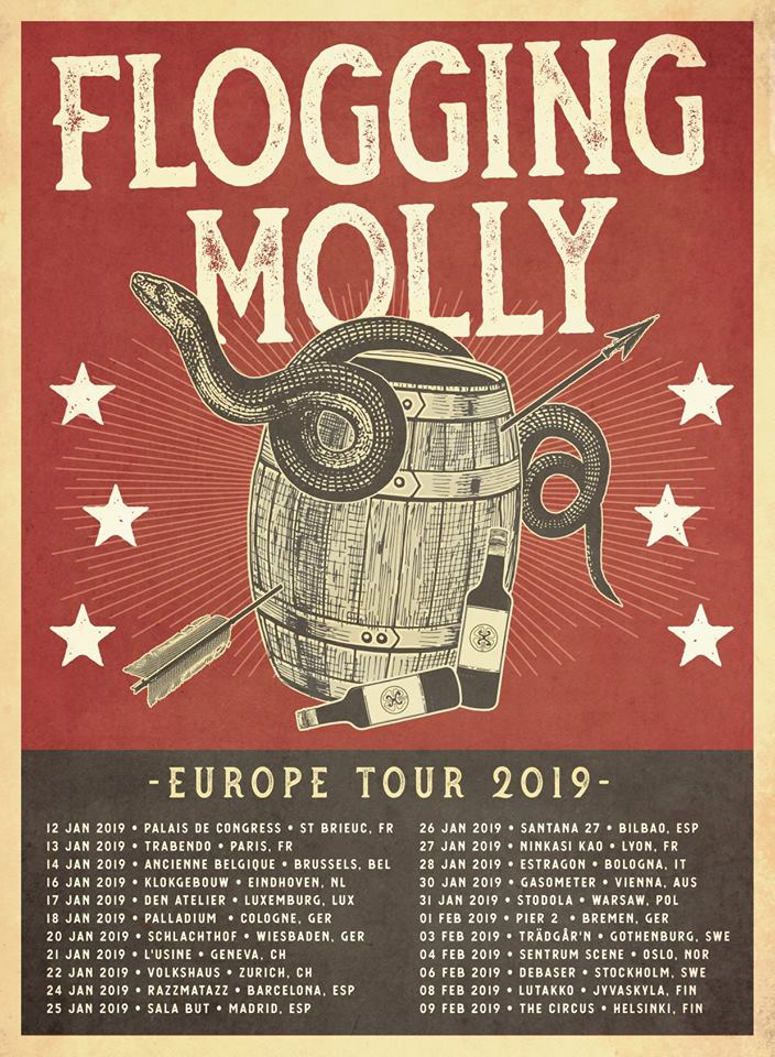 Flogging Molly - Tour 2019