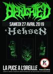 Benighted + Heksen = La Puce a L'Oreille